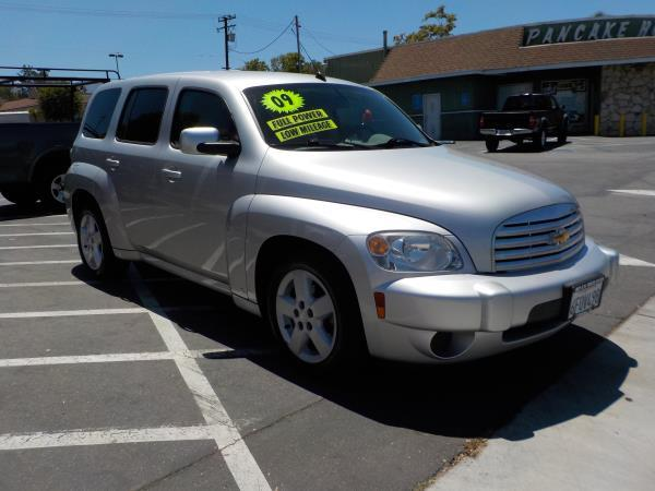2009 CHEVROLET HHR silvergrey 4 speed automatic air conditioneralarmamfm radioanti-lock bra