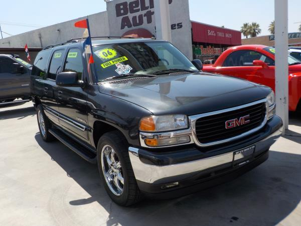 2006 GMC YUKON XL charcolegrey cloth automatic air conditioneralarmamfm radioanti-lock brak