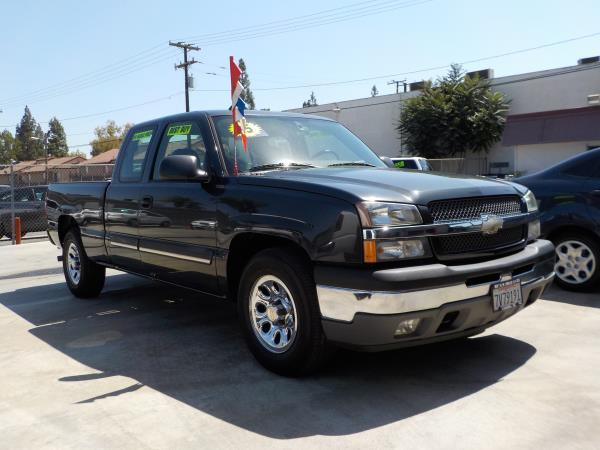 2005 CHEVROLET SILVERADO 1500 X CAB charcolecharcole automatic air conditioneralarmamfm radi