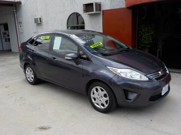 2013 FORD FIESTA charcolegray automatic air conditioneralarmamfm radioanti-lock brakescd p