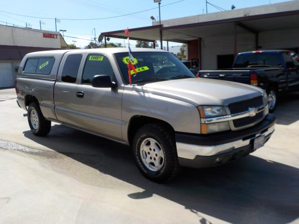 2003 CHEVROLET SILVERADO X CAB Z71 pewtercharcole automatic air conditioneralarmamfm radioa