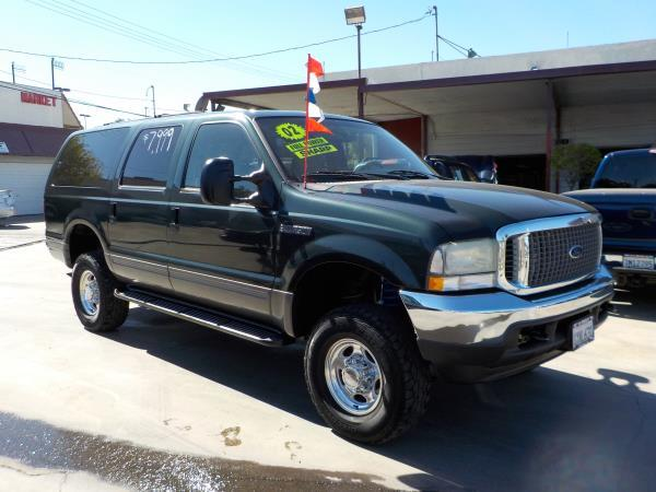 2002 FORD EXCURSION greentan automatic air conditioneralarmamfm radioanti-lock brakescd pl