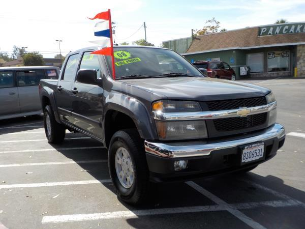 2008 CHEVROLET COLORADO greyblack automatic air conditioneralarmamfm radioanti-lock brakes