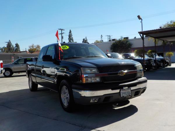 2005 CHEVROLET SILVERADO 1500  X CAB charcolecharcole automatic air conditioneralarmamfm rad