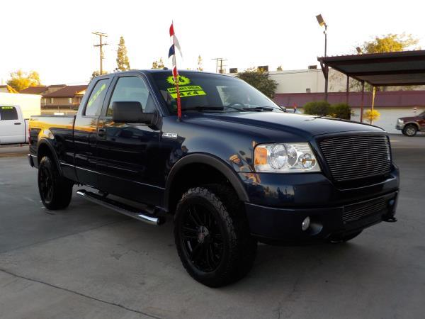 2006 FORD F-150 SUPER CAB bluegrey automatic air conditioneralarmamfm radioanti-lock brakes