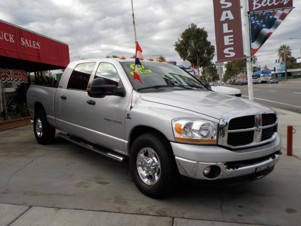 2006 DODGE RAM PICKUP 2500 MEGA silvergrey auto air conditioneralarmamfm radioanti-lock bra
