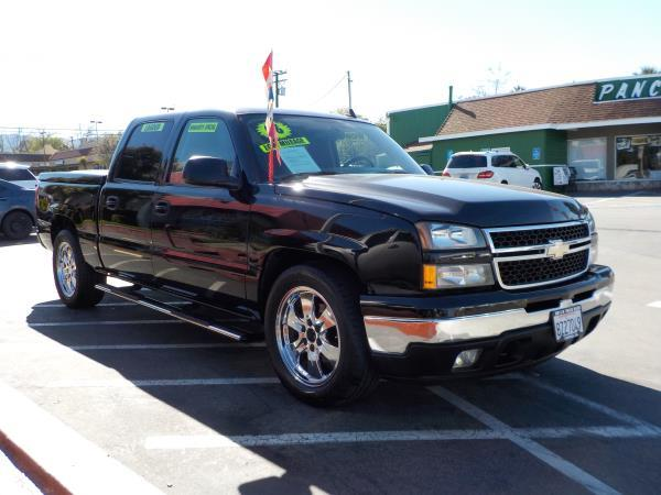 2006 CHEVROLET SILVERADO 1500 CREW blackgrey automatic air conditioneralarmamfm radioanti-l