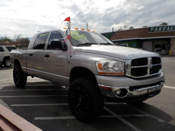 2006 DODGE RAM PICKUP MEGA CAB silvergrey automatic air conditioneralarmamfm radioanti-lock