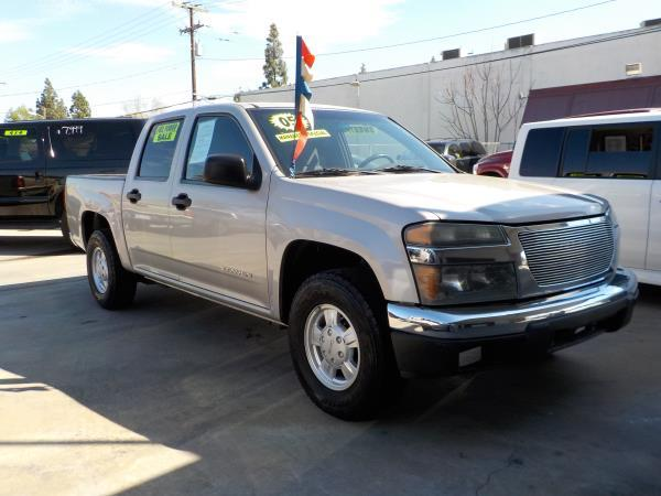 2005 GMC CANYON CREW CAB silver birchcharcole  automatic air conditioneramfm radioanti-lock