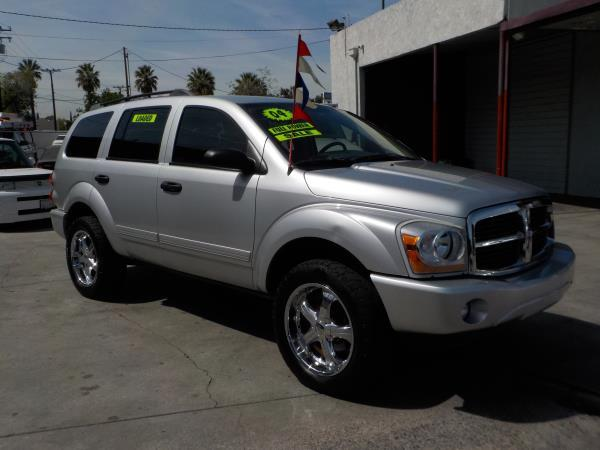 2004 DODGE DURANGO silvergrey automatic air conditioneralarmamfm radioanti-lock brakescd p