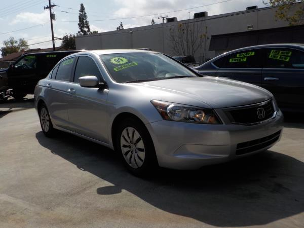 2009 HONDA ACCORD silverblack 5 speed automatic air conditioneralarmamfm radioanti-lock bra