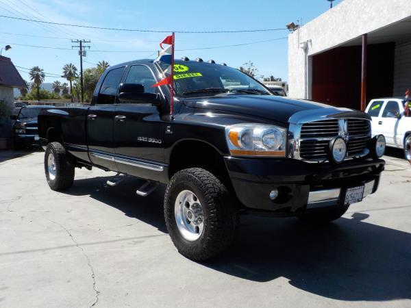2006 DODGE RAM PICKUP 3500 QUAD 4WD blackgrey automatic air conditioneralarmamfm radioanti-
