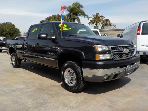 2005 CHEVROLET SILVERADO 2500 HD CREW charcolegrey automatic air conditioneralarmamfm radio
