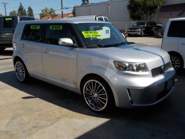 2008 SCION XB silverblack auto air conditioneralarmamfm radioanti-lock brakescd playerchi