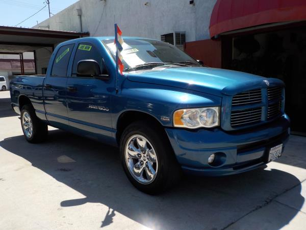 2005 DODGE RAM PICKUP 1500 QUAD mopar bluetan automatic air conditioneralarmamfm radioanti-