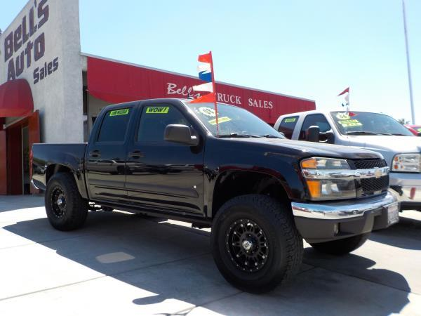2008 CHEVROLET COLORADO CREW CAB blackblack automatic air conditioneralarmamfm radioanti-lo
