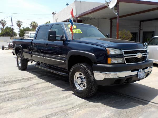 2007 CHEVROLET SILVERADO CLASSIC 2500HD bluecharcole auto air conditioneralarmamfm radioant