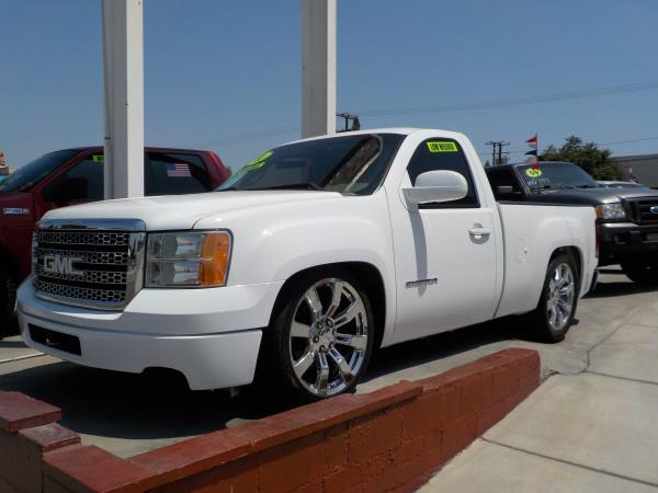 2011 GMC SIERRA 1500 REG CAB whiteblack automatic air conditioneralarmamfm radioanti-lock b