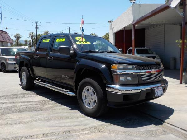 2005 CHEVROLET COLORADO CREW 4WD blackgrey automatic air conditioneramfm radioanti-lock brak