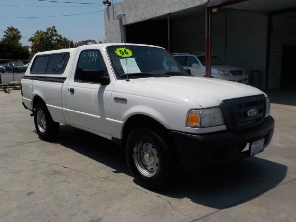 2006 FORD RANGER whitegrey automatic air conditioneramfm radioanti-lock brakescruise contro