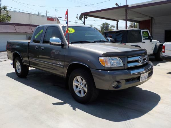 2005 TOYOTA TUNDRA charcolegrey automatic air conditioneramfm radioanti-lock brakescd playe