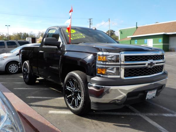 2015 CHEVROLET SILVERADO 1500 REG CAB blackgray cloth automatic air conditioneralarmamfm rad