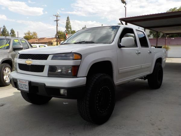 2012 CHEVROLET COLORADO CREW CAB