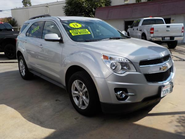 2013 CHEVROLET EQUINOX silverdrkgryclth automatic air conditioneralarmamfm radioanti-lock b