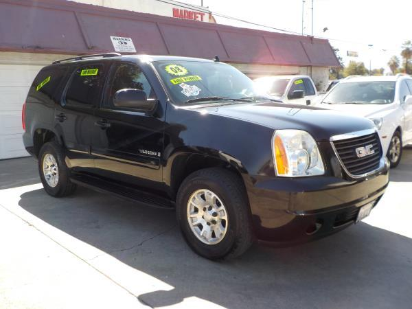 2008 GMC YUKON blackblack automatic air conditioneralarmamfm radioanti-lock brakescd playe