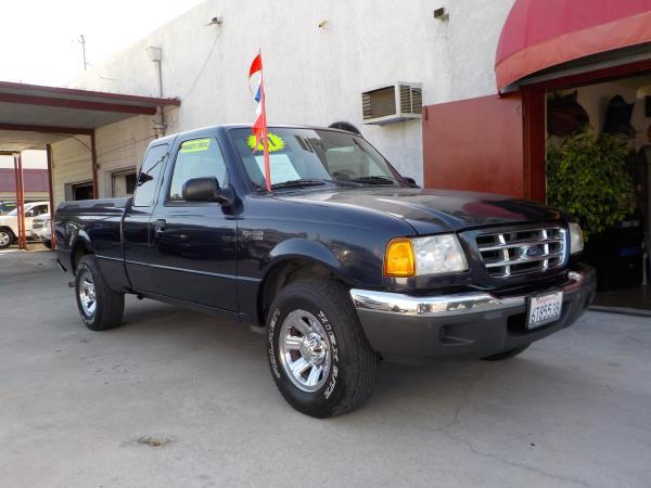 2001 FORD RANGER 4DR SUPR CAB bluegrey automatic air conditioneramfm radioanti-lock brakesc