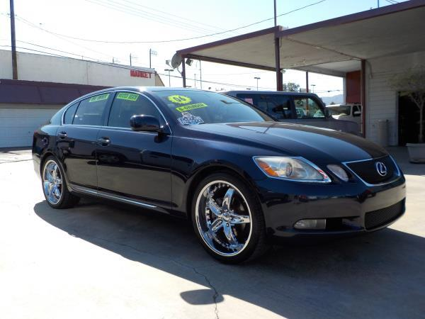 2006 LEXUS GS 300 drk bluetan clth automatic air conditioneralarmamfm radioanti-lock brakes