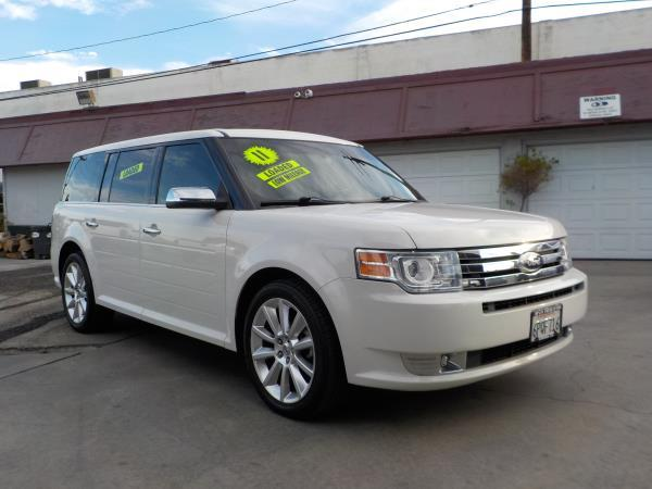 2011 FORD FLEX LIMITED pearlwhiteblack automatic air conditioneralarmamfm radioanti-lock br
