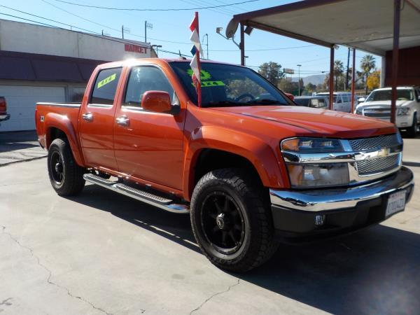 2010 CHEVROLET COLORADO CREW 4WD orangecharcole automatic air conditioneramfm radioanti-lock