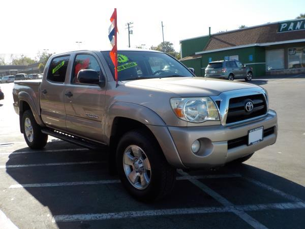 2007 TOYOTA TACOMA CREW TRD goldgrey automatic air conditioneralarmamfm radioanti-lock brak