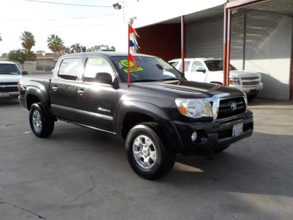 2007 TOYOTA TACOMA CREW TRD blackgrey automatic air conditioneralarmamfm radioanti-lock bra