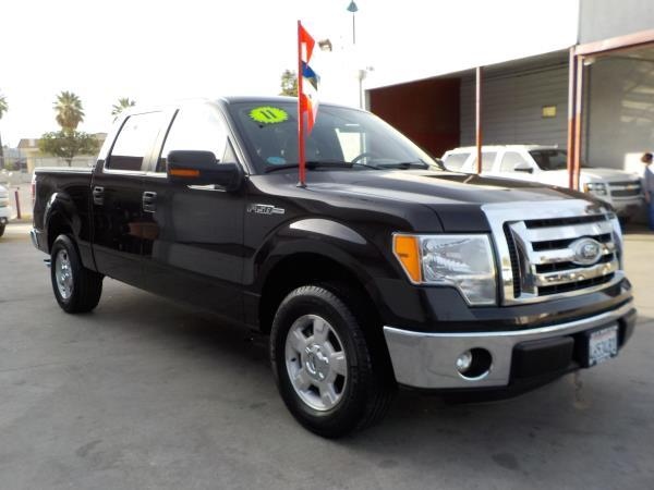 2011 FORD F-150 SUPER CREW blackgrey auto air conditioneralarmamfm radioanti-lock brakescd