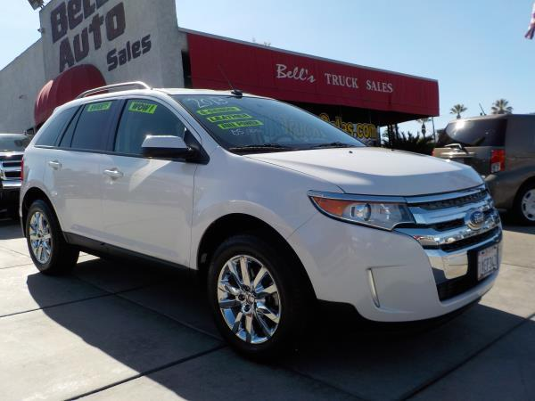 2013 FORD EDGE whiteblack auto air conditioneralarmamfm radioanti-lock brakescd playerchi