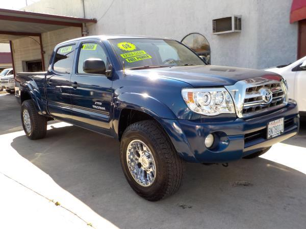 2008 TOYOTA TACOMA CREW bluetan clth automatic air conditioneralarmamfm radioanti-lock brak