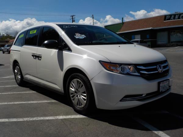 2016 HONDA ODYSSEY whitetan auto air conditioneralarmamfm radioanti-lock brakescd changer