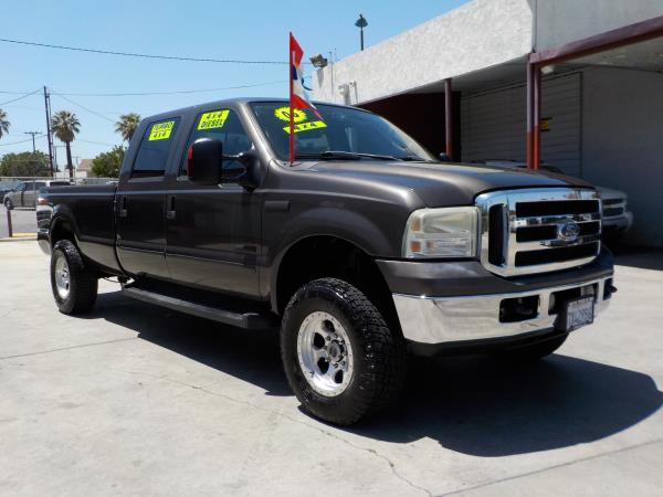 2006 FORD F-250 CREW 4WD LONG mineraltan clth automatic air conditioneralarmamfm radioanti-