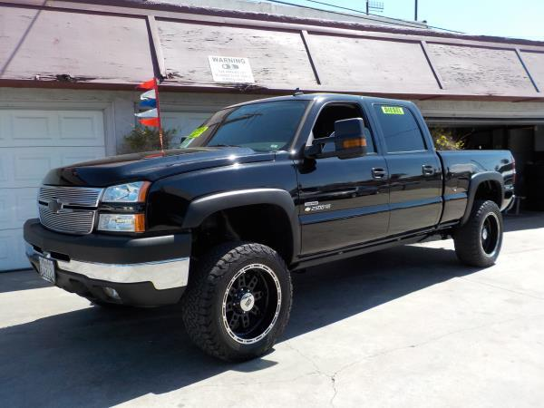 2007 CHEVROLET SILVERADO CLASSIC 2500HD CREW blackcharcole automatic air conditioneralarmamf