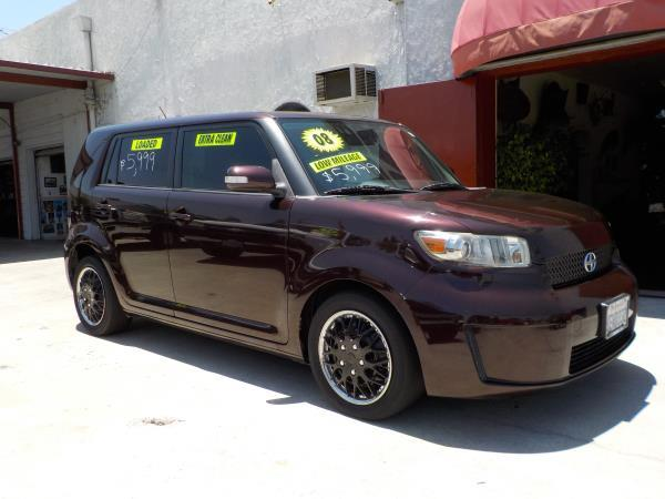 2008 SCION XB dark cherryblack 5 speed air conditioneramfm radioanti-lock brakescd playerc