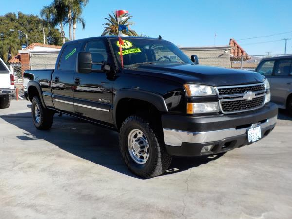 2007 CHEVROLET SILVERADO CLASSIC 2500HD blackblack automatic air conditioneralarmamfm radio
