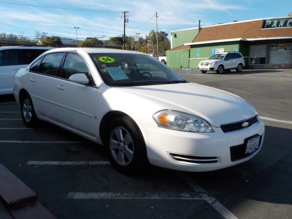 2006 CHEVROLET IMPALA whitegray cloth automatic air conditioneralarmamfm radioanti-lock bra
