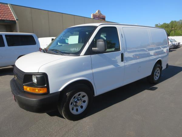CHEVROLET EXPRESS 1500 WORK VAN