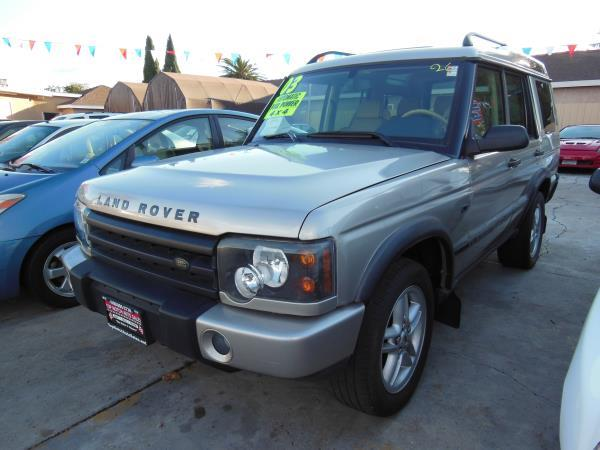 2003 LAND ROVER DISCOVERY champagnechampagne 4 speed automatic air conditioneramfm radiocd p