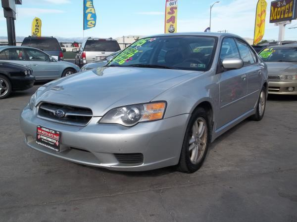 2005 SUBARU LEGACY silvergray 4 speed automatic air conditioneralarmamfm radioanti-lock bra