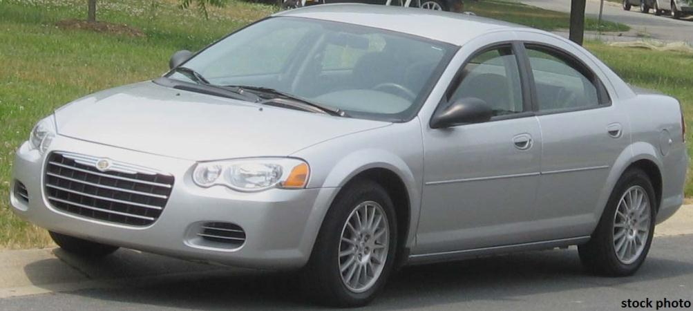 2005 CHRYSLER SEBRING silvergrey automatic air conditioneralarmamfm radioanti-lock brakesc