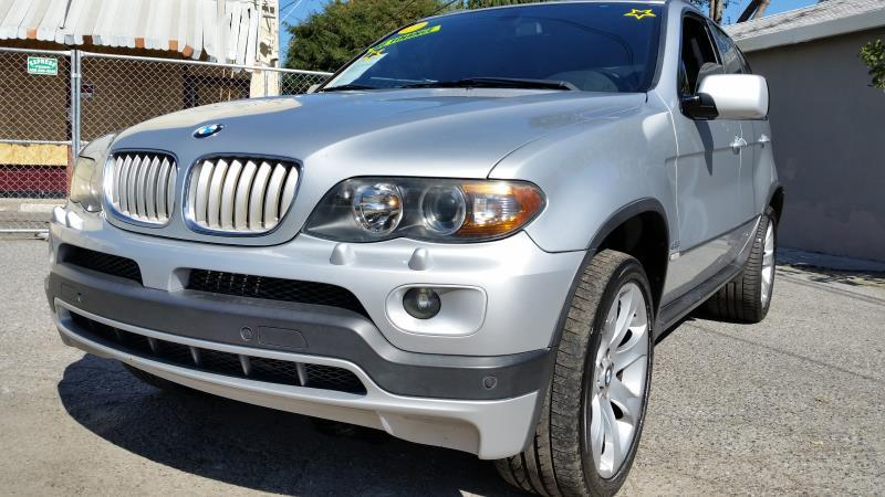 2004 BMW X5 silverblack automatic air conditioneralarmamfm radioanti-lock brakescd changer