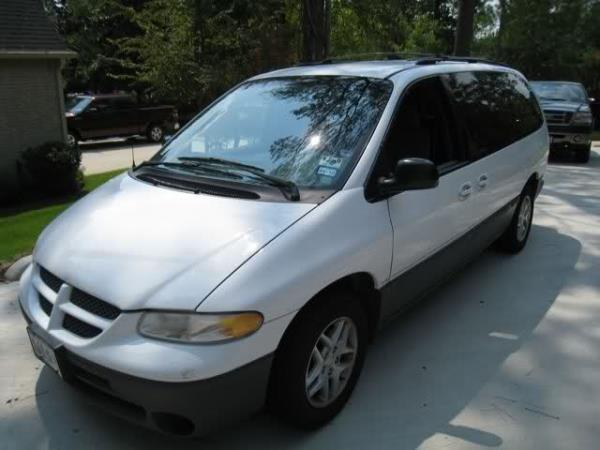 1999 DODGE CARAVAN whitegray automatic air conditioneramfm radioanti-lock brakescd playerc